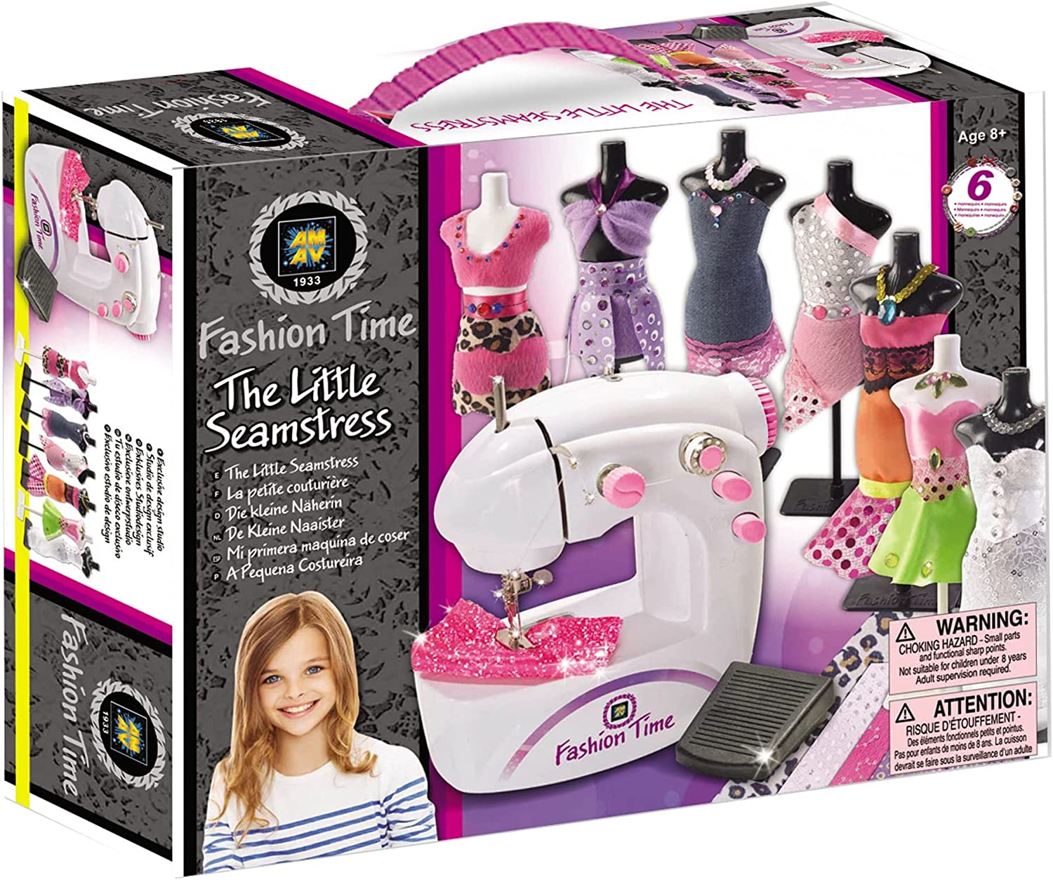 AMAV Fashion Time The Little Max Popular 63% OFF Seamstress Sewing Educational Craft