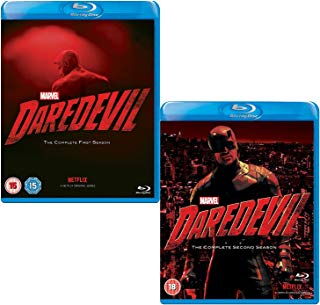 Daredevil: Complete Season 1 and 2 - Marvels Complete Daredevil Collection - 2 Movie Bundling Blu-ray