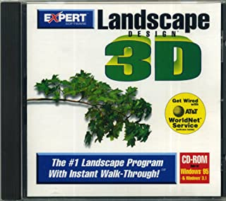 LANDSCAPE DESIGN 3D (CD-ROM) BY EXPERT SOFTWARE