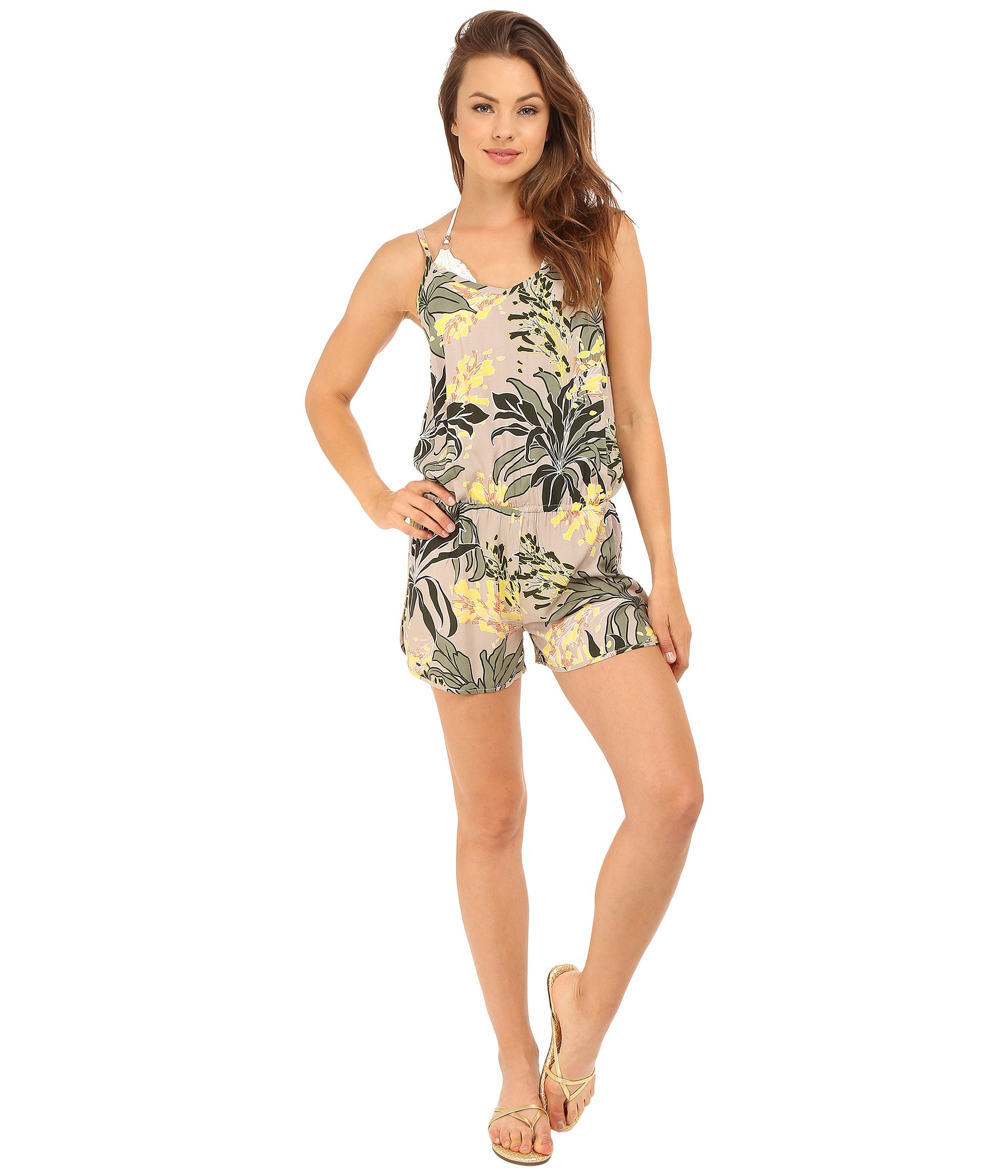 07899a67132 VINCE CAMUTO Crete Flower Romper Cover-Up