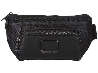 Tumi Alpha Bravo Campbell Utility Pouch (Black) Luggage