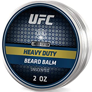 UFC Heavy Duty Beard Balm Conditioner for Extra Control - Unscented - Styles, Strengthens & Softens Beards & Mustaches - Leave in Conditioner Wax for Men