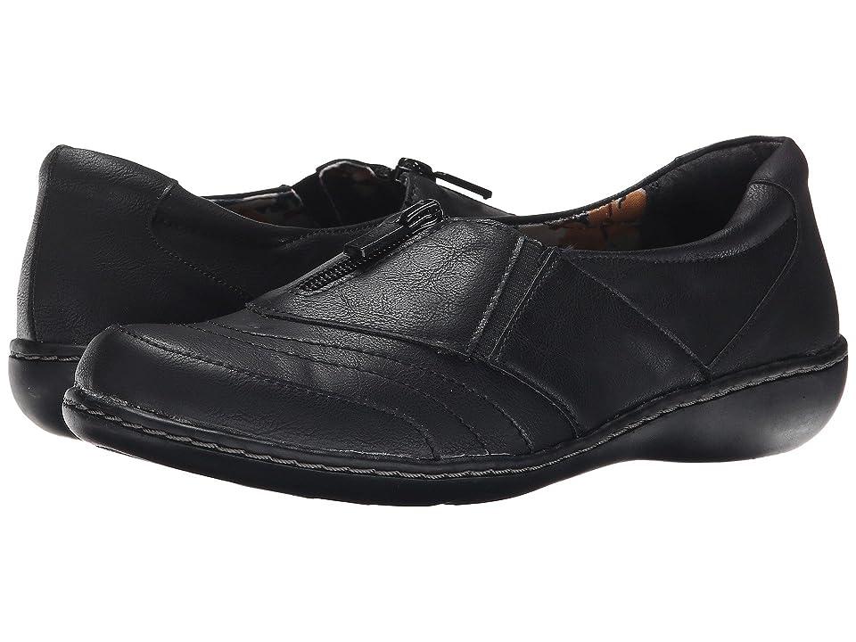 Soft Style Jennica (Black Tumbled Leather) Women