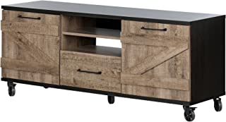 South Shore Valet TV Stand on Wheels