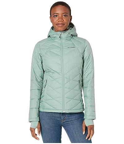 Columbia Heavenly Hooded Jacket (Light Lichen) Women