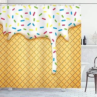 Best sprinkles shower curtain Reviews