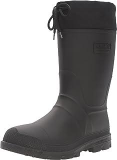 حذاء عمل Kamik Icebreaker للرجال، أسود، 12 M US
