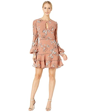 Bardot Tammy Trim Dress (Chestnut) Women