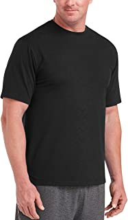 Men's Big & Tall Performance Cotton Short-Sleeve T-Shirt...