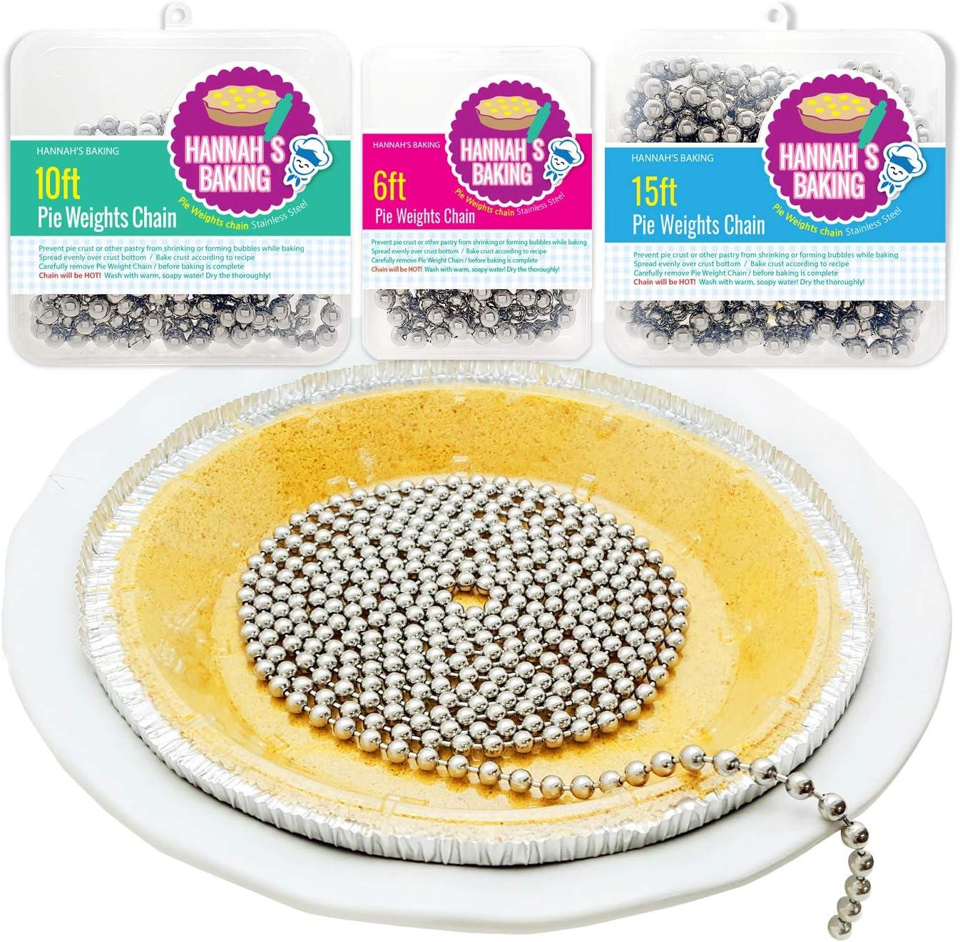 Baking Pie Crust Max 45% OFF Weights Chain- pie chain crust S Stainless Cheap SALE Start