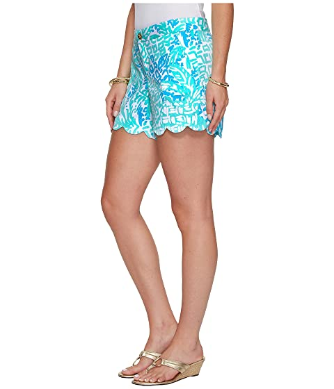 Home Slice Lilly Pulitzer Aqua Shorts Buttercup Seaside XY6RqX