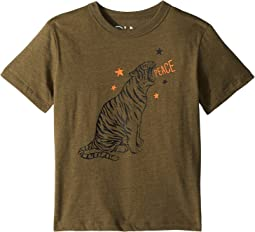 Chaser Kids - Vintage Jersey Tiger Star Tee (Little Kids/Big Kids)