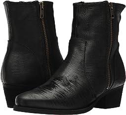 Black Laser Leather