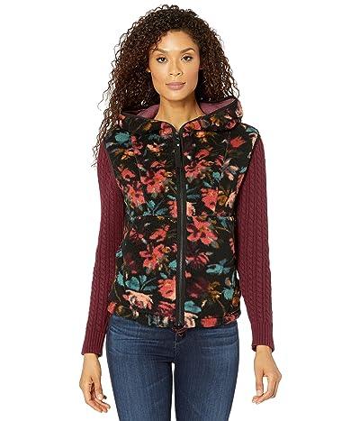 Prana Polar Escape Vest (Black Fleur) Women