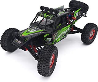 KELIWOW 1/12 Scale RC Truck 2.4GHz 4WD Remote Control Vehicles, 40+MPH Blushless Fast Off-road Racing Car RTR (Green)