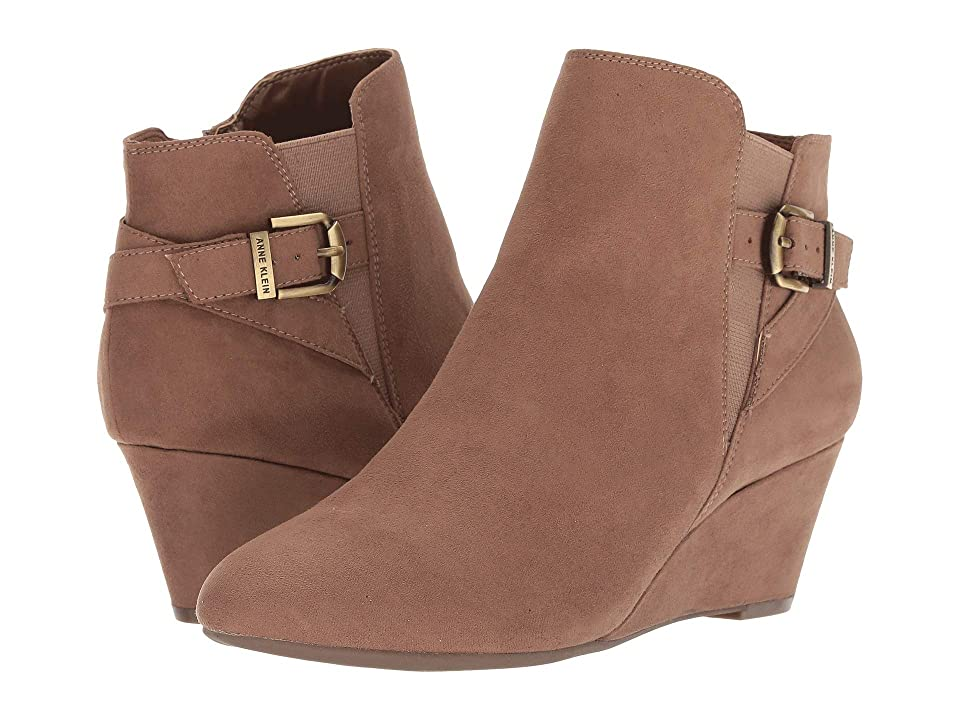 Anne Klein Admina Wedge Bootie (Natural) Women