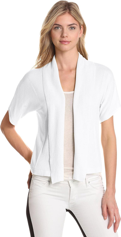 Leo & Nicole Women's Missy Shawl Collar Shrug Sweater