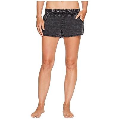 P.J. Salvage Meet Me At Sunset Shorts (Black) Women