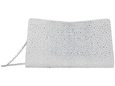 Jessica McClintock Kacie (Silver) Handbags
