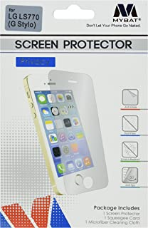 MyBat Screen Protector for LG LS770 (G Stylo) & Other Smartphones - Retail Packaging - Clear