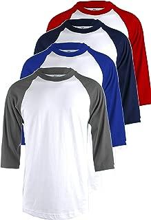 Best 3 4 sleeve baseball jersey Reviews
