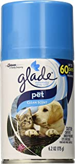 Automatic Spray Air Freshener Refill, Pet Clean Scent, 6.2 Ounce, Packaging may vary