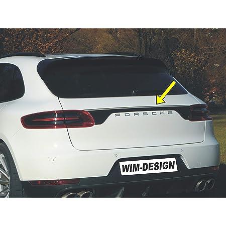 Design Aufkleber Für Porsche Macan An Heckklappe Made In Germany Auto