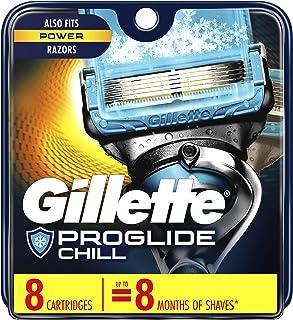 Gillette Fusion ProShield Chill Men's Razor Blade Refills, 8 Count, Mens Razors/Blades