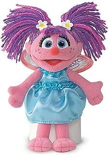 Sesame St -  Abby Cadabby Beanie 15cmStuffed Plush Toy,15 x 11 x 4cm