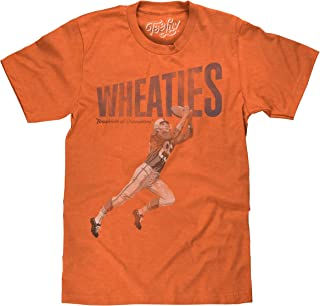 Wheaties Breakfast of Champions T-Shirt - Wheaties Football Player Shirt