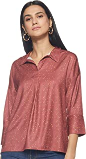 Amazon Brand - Symbol Women Seasonal Basic body blouse