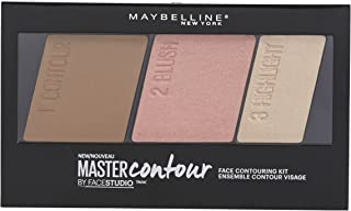 Maybelline Master Contour Face Contouring Kit, Light to Medium, 0.17 Ounce
