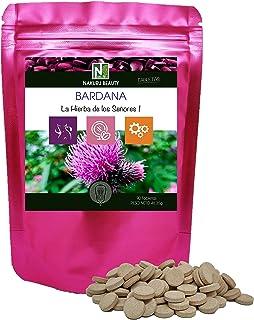Bardana / 90 comprimidos de 515mg / NAKURU Beauty/Polvo prensado en frío y secado/Analizado y envasado en Francia/La Hierb...