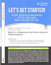 MindTap Computing, 1 term (6 months) Printed Access Card for Malik's C++ Programming:  From Problem Analysis to Program Design, 8th