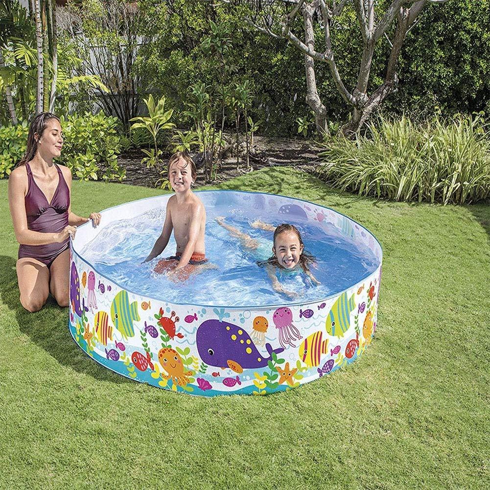 Cacoffay Piscina para niños y Mascotas Juego de bañeras para ...