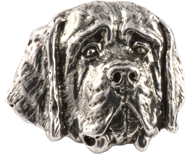 Handmade Working Dog Face Brooch - Akita Popular products Malamute Bernese Max 71% OFF Pins