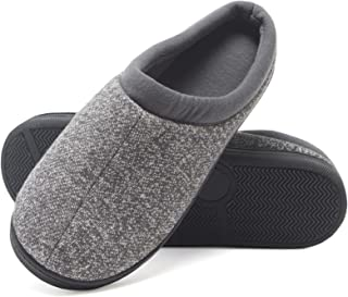 Hanes Boy's Slipper Clog House Shoe with Indoor Outdoor Memory Foam Sole Fresh IQ Odor Protection