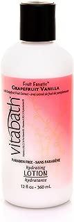 Grapefruit Vanilla Hydrating Lotion by Vitabath for Unisex - 12 oz Lotion