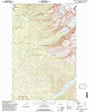 YellowMaps Lake Mc Donald East MT topo map, 1:24000 Scale, 7.5 X 7.5 Minute, Historical, 1994, Updated 1997, 27 x 22.2 in