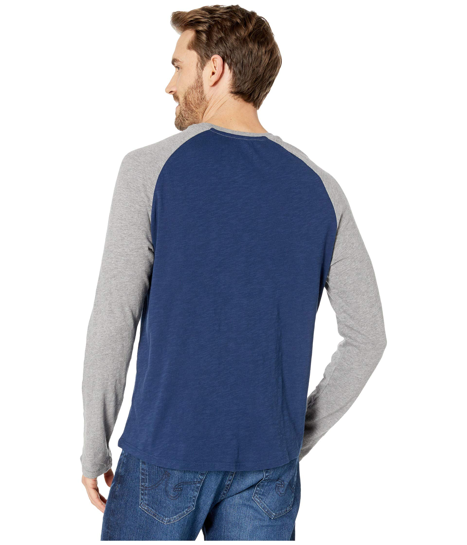 Baseball T shirt Sleeve Life Blue Long Vintage Is Good Darkest gHHqw7