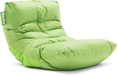 Stupendous Amazon Com Big Joe 645185 Dorm Bean Bag Chair Spicy Lime Caraccident5 Cool Chair Designs And Ideas Caraccident5Info