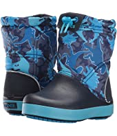 Crocs Kids - Crocband Lodge Point Graphic Boot (Toddler/Little Kid)