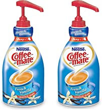 NESTLE COFFEE-MATE Coffee Creamer, French Vanilla, 1.5L liquid pump bottle, Special Size 2Pack