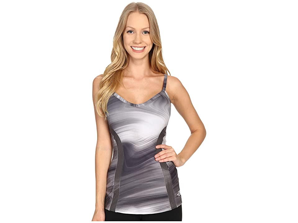 The North Face Rio Tank Top (Graphite Grey Water Swirl Print (Prior Season)) Women