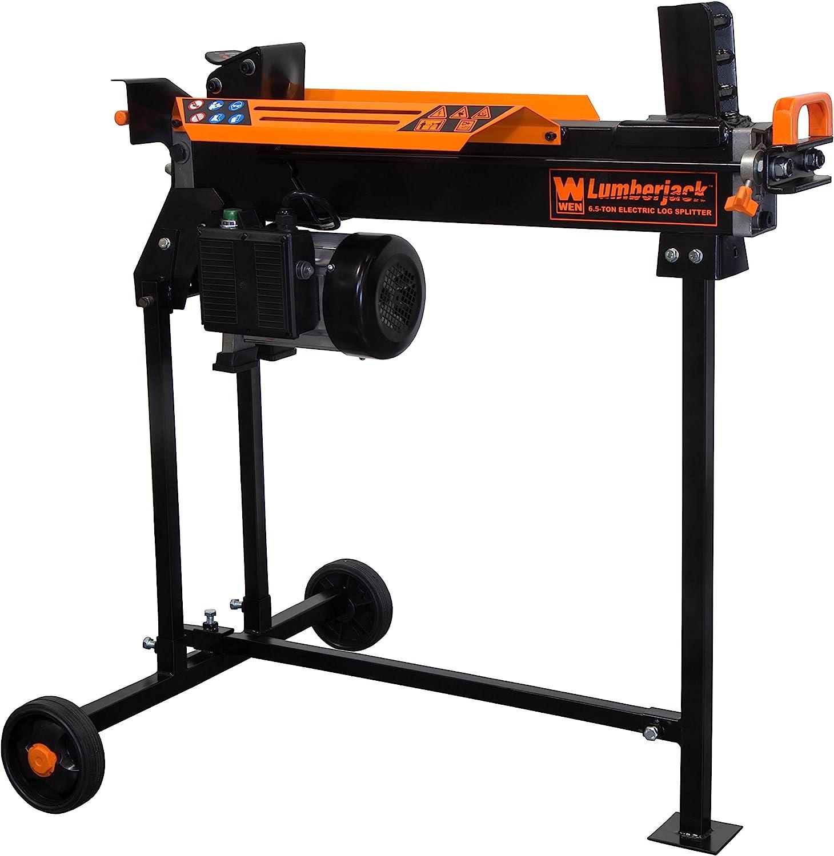 WEN 56207 Opening large release sale 6.5-Ton Electric Splitter Black Log 5% OFF