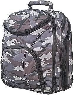 Rockville Travel Case Camo Backpack Bag For Peavey PV14BT Mixer