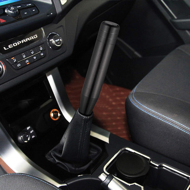 TOMALL 3.3 Car Gear Stick Shifter Knobs Aluminum Alloy Car Shift Head Knob M8 M10 M12 Screw Car Universal Manual Transmission Accessories Red