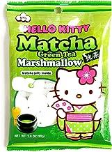 Hello Kitty Matcha Marshmallows 2.8 oz each (2 Items Per Order)