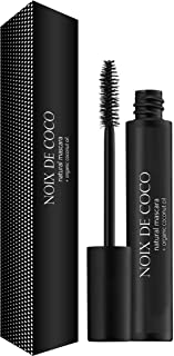 Noix de Coco Organic Coconut Oil Mascara - Nourishing, Conditioning, HypoallergenicMascara with Vitamin Eby NDC Beauty- Perfect for Sensitive Eyes - Black