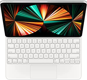 Magic Keyboard for iPad Pro 11-inch (3rd Generation) and iPad Air (4th Generation) - US English - White (Renewed)